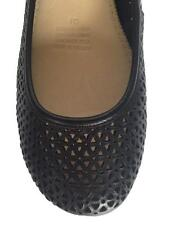New Womens Supersoft Diana Ferrari Leather Shoe/Work/Flat Black Sz 6/7/8/9/10/11
