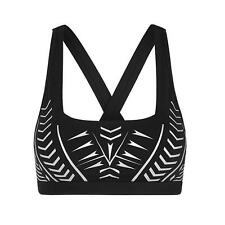 **NEW**LORNA JANE**BIONIC black sports bra/crop top sz XS, S, M, L, XL RRP$69.99