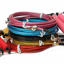 Adjustable Jump Ropes Speed Wire Skipping Fitness Exercise Cardio Lose Weight 1x