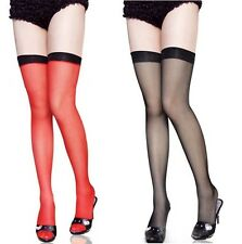 Sexy Fashion Black Lace Top Stay Up Thigh-Highs Tights Stockings Pantyhose-2030
