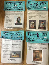 Choice 1/4 scale Grandt Line KIT PROJECTS in Dollhouse Miniatures 1:48