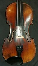Old violin made in Germany, Mittenwald, labelled 'T.Porter'
