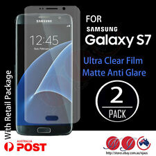 2x Full coverage Screen Protector film For Samsung Galaxy S7 matte / clear
