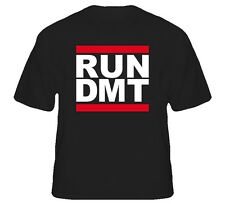 Run Dmt Music House Dance Beats DJ Cool Black T Shirt