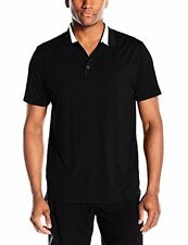 PUMA Golf NA 57047901 Puma Mens Short Sleeve Tailored Tipped Polo