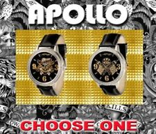 Ed Hardy Mens Watch APOLLO Los Angeles Flags LOVE KILLS