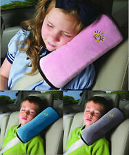 Children Car Vehicle Seat Belt Harness Shoulder Pad Cover Cushion Head Support