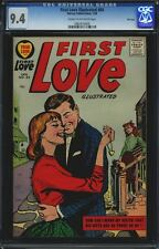 CGC HARVEY: FIRST LOVE ILLUSTRATED #84 NM 9.4 FILE COPY 1958