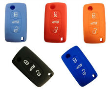 Silicone key protector case for Peugeot 206 208 207 3008 308 RCZ 508 408 2008