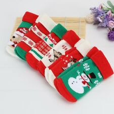 Toddler Kid Baby Boy Girl Winter Warm Soft Socks Cute Santa Claus Deer Xmas Gift