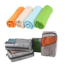 Large Microfibre Sports Travel Gym Fitness Beach Swim Camping Bath Towel Holiday