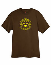 Zombie Outbreak Response Team T-Shirt Funny Tagless Tee w/Free Sticker FREE S&H!