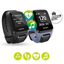 TomTom Spark Cardio Music GPS Watch + built-in Heart Rate Monitor (Black/Purple)