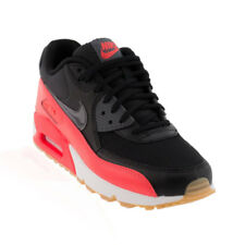 Nike - Air Max 90 Essential Casual Shoe - Black/Dark Grey/Bright Crimson/Sail