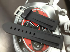 HQ 22 24 26 MM PU RUBBER DIVER WATCH BAND 22MM 24MM 26MM STRAP FOR PANERAI
