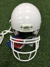 RAWLINGS QUANTUM FOOTBALL HELMET- WITH mask - WHITE - YOUTH - New with Tags
