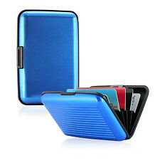 Women Men Mini Aluminum Metal Credit Card Holder Wallet Case Pocket Waterproof