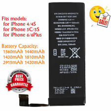 1560mAh Li-ion Battery Replacement Part with Flex Cable for iPhone 5S/5C/6/6plus