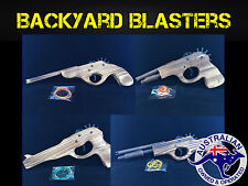 Classic Vintage Style Wooden Rubber Band Guns - 4 to choose from