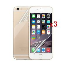 3Pcs Front / Back Ultra Clear Film HD LCD Screen Protector For Iphone 7 6s Plus