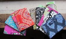 New Vera Bradley Business Case Credit Card Holder Baroque Hello Dahlia Choice