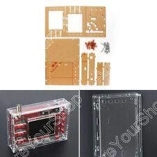 "Clear Acrylic Case Shell Housing For DSO138 2.4"" TFT Digital Oscilloscope Kit B4"