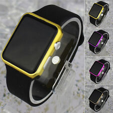 Fashion Child Kid Boy Girl LED Digital Dispaly Silicone Date Wrist Watch Gift