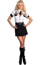 SEXY STRIP SEARCH OFFICER AIR FORCE POLICE COP SECURITY ADULT WOMENS COSTUME