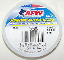 35LB, AFW SURFLON ULTRA 1X19 COATED-KNOTABLE-STAINLESS STEEL WIRE