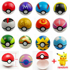 Lot Wholesale Cosplay Pokeball Pop-up + Free Random Pokemon Monsters Figure Toy
