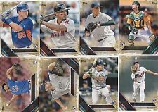 2016 TOPPS SERIES 2 BASEBALL GOLD #  TO 2016 PARALLEL U-PICK COMPLETE YOUR SET