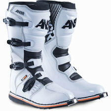 Answer 2017 Mx NEW AR-1 Adult D3O Sole White Dirt Bike Motocross Boots