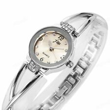 New Fashion Diamond Steel Strap Band Ladies Quartz Analog Wrist Watch