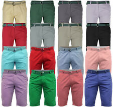 Jack South Mens Chino Knee Length Shorts Casual Summer Cargo Combat Beach Pants