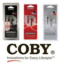 NEW COBY CVE52 Earphone Stereo In-Ear Only EARBUDS headphones Music MP3 Player