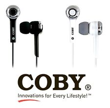 NEW COBY CVE31 Earphone Stereo In-Ear Only EARBUDS headphones Music MP3 Player