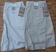 DOCKERS KHAKIS SHORTS RELAXED DENIM OR TWILL LIST $44