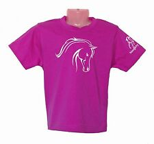 KIDS HORSE T-SHIRT SIZES INFANT & KIDS LOVELY PONY 100% COTTON BRAND NEW #KT005