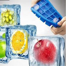 15-Cavity Silicone Cube Ice Tray Pudding Jelly Soap Maker Mold Mould Tool New