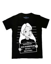 Twisted Disney Alice in Wonderland Unisex Tee Mug Shot Alternative Goth Shirt
