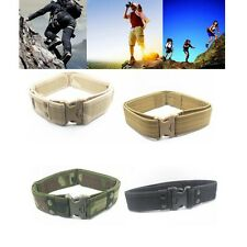 Survival Tactical Belt Emergency Rescue Rigger Military Quick Release Waistband