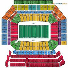 10/16/16 - Los Angeles Rams at Detroit Lions (2 tickets) Ford Field Detroit