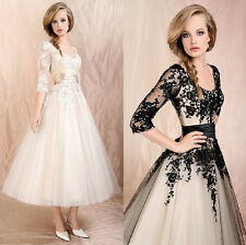 HOT Wedding Dress Lace Prom Ball Cocktail Party Bridal Formal Evening gown