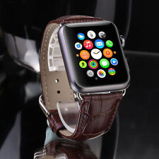 Wrist Watch Band Leather Buckle Strap Belt fit for iWatch Apple Watch 42mm