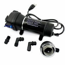 12V/110V High Pressure Self Priming Booster Diaphragm Water Pump Sprayer RV Pump