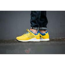 Shoes Asics Gel Lyte III Brazil Pack H6X1N 0404 man running Yellow Green Blue