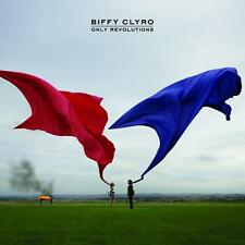 Biffy Clyro Only Revolutions Album Cover Stretched Canvas Wall Art Poster Print