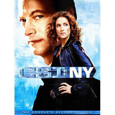 CSI NY The Complete 2nd Second Season 2 Two DVD Factory Sealed NEW