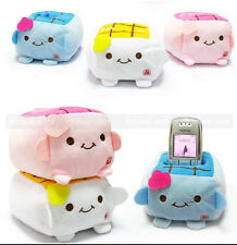 New Holder Cute Cartoon Tofu Plush Protect Block Seat Stand Mobile Cell Phone