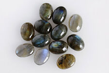 7X5MM Genuine Labradorite Oval Shape, Calibrated Cabochons AG-209